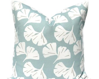 15% Off Sale Blue Pillow Blue Pillow Cover Decorative Pillow Cover Blue Throw Pillow Spa Blue Cushion Cover Accent Pillows Blue toss pillow