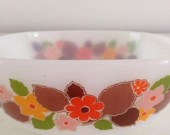 Small vintage Jena milk glass bowl Schott Mainz