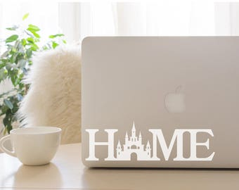 Disney Home Decal, Disney, Car Decal, Laptop Decal, Disney Castle, Home Decal