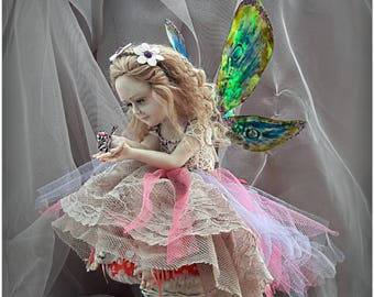 OOAK Art Doll fairy Lily