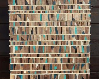 Fallen Walnut Wood Wall Art, Tribal, MidCentury, Industrial MADE TO ORDER