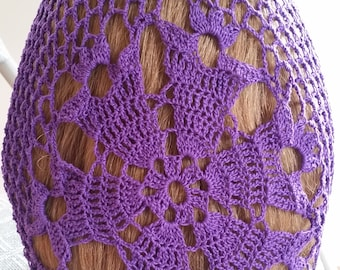 Bell Fancy Hair Snood in Cotton
