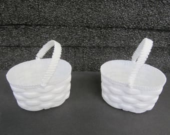 Mini  Plastic Favor Baskets for  Baby Shower Or Party Favors - Craft Supplies  - CLOSEOUT SALE 2.00