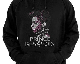 PRINCE Ladies Hooded Sweatshirt. African American T-shirts
