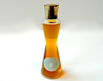 Vintage HEAVEN SENT Helena Rubinstein Perfume Eau de Parfum 1960s 1 Fl oz Full Gold Cap