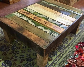 Graffiti Design Sustainable Coffee Table