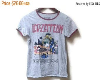 SALE Led Zeppelin t shirt women's small S the song remains the same