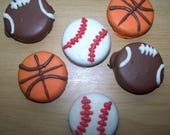 RESERVED LISTING for ASALMANSON -  Oreo Cookies - Oreo Cookies In Chocolate - Chocolate Favors - Baseball, football, basket ball favors
