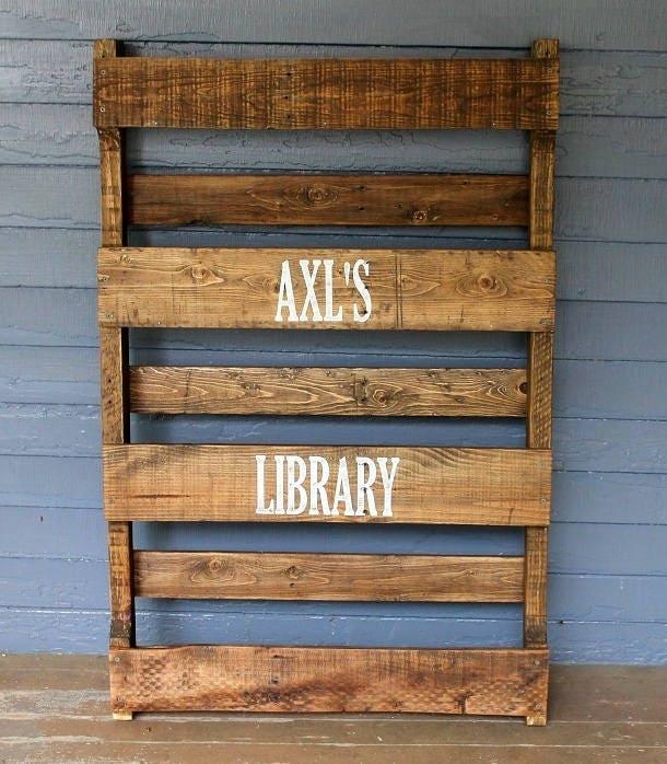 wooden bookshelf rustic wood shelves solid wood bookcase. Black Bedroom Furniture Sets. Home Design Ideas