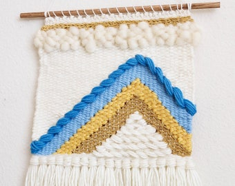 Handmade Woven Wall Hanging - Weaving - Woven Wall Art - Tapestry