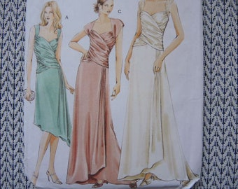 2000s Vogue sewing pattern 8150 misses dress size 18-20-22 UNCUT