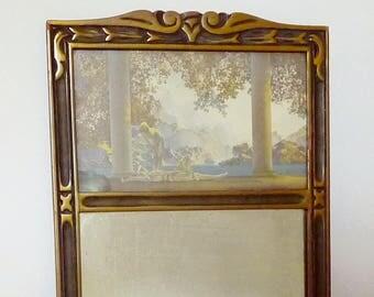 Maxfield Parrish Daybreak Print Wall Mirror Art Deco Original Print