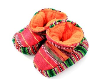SALE Mexican Baby Shoes / Baby Shoes / Gift For Baby / Newborn Baby Shoes / Newborn Baby Gift