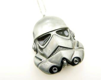 Mask stormtrooper Star Wars Necklace