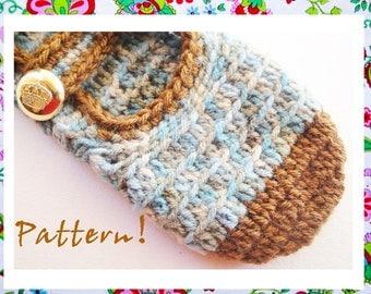 Wonderful Mary Janes Crochet  SlippersPattern