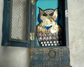 Mystical Owl Storage Box