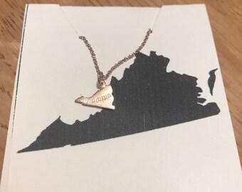 Virginia Rose Gold Necklace