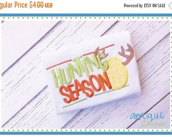 40% OFF INSTANT DOWNLOAD Hunting Season 3857 applique design in digital format for embroidery machine by Applique Corner