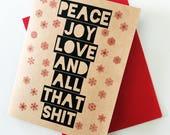 Holiday Card (adult humor)