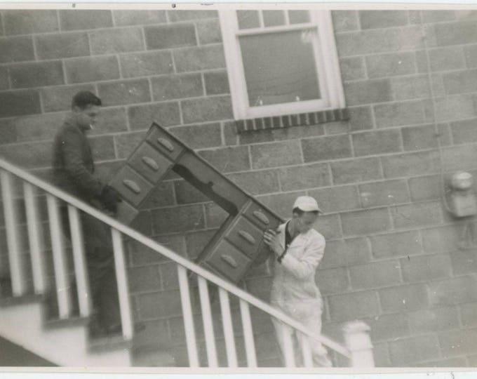 Moving: Vintage Snapshot Photo [81641]