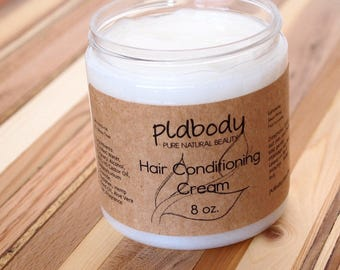 Sandalwood Hair Conditioning Cream, Hair Conditioner, 8 Ounce