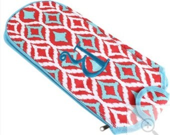 Insulated Flat/curling Iron Cover--Monogrammed