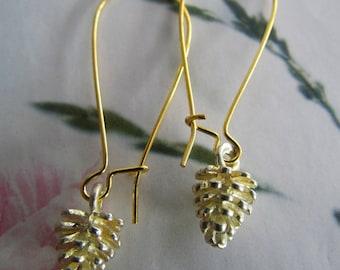 Pine Cone earring