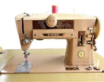 Vintage Singer 401a Sewing Machine