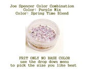 Purple Mix or Spring Time Blend Enamel Glass Frit (Frit Only - No Base Color) by Joe Spencer pick the size you like with dropdown menu