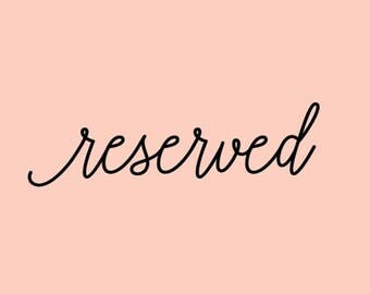 Reserved for Feng