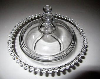 Candlewick Candy Dish with Lid