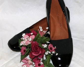 Gentle Souls Black Patent Leather Flats - Patent Leather - Original Box - New Never Worn - Made in China - Iso Kix - Size 7.5