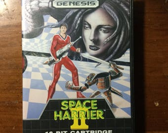 Sega Genesis Space Harrier 2 game 1989