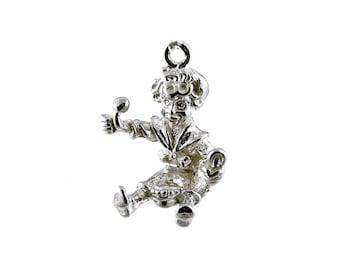 Sterling Silver Little Jack Horner Charm For Bracelets
