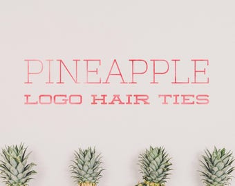 Pineapple Hair Ties