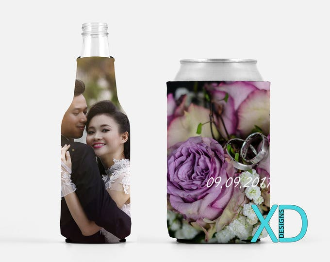 Custom Drink Cozies, Custom Can Cooler, Custom Bottle Wrap, Custom Drink Sleeve, Beer Cooler, Personalized Cozie, Bachelor Party