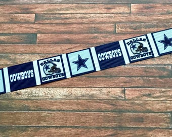 Dallas Cowboy Ribbon-Dallas Cowboys Ribbon-Cute Cowboys Ribbon-Dallas Cowboys Craft Supplies-Dallas Cowboys Hair Bow Supplies-Dallas Cowboys