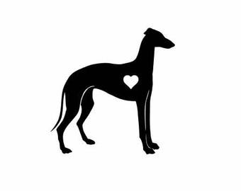 Greyhound Dog Vinyl Decal | Pets Dogs Decal  | Greyhound Dog Vinyl Decal  Greyhound Dog Vinyl Decal decal