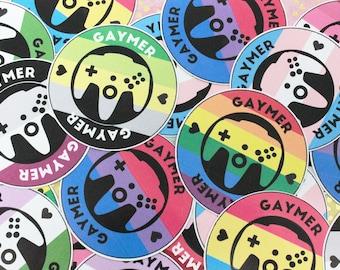 Gaymer Pride Sticker