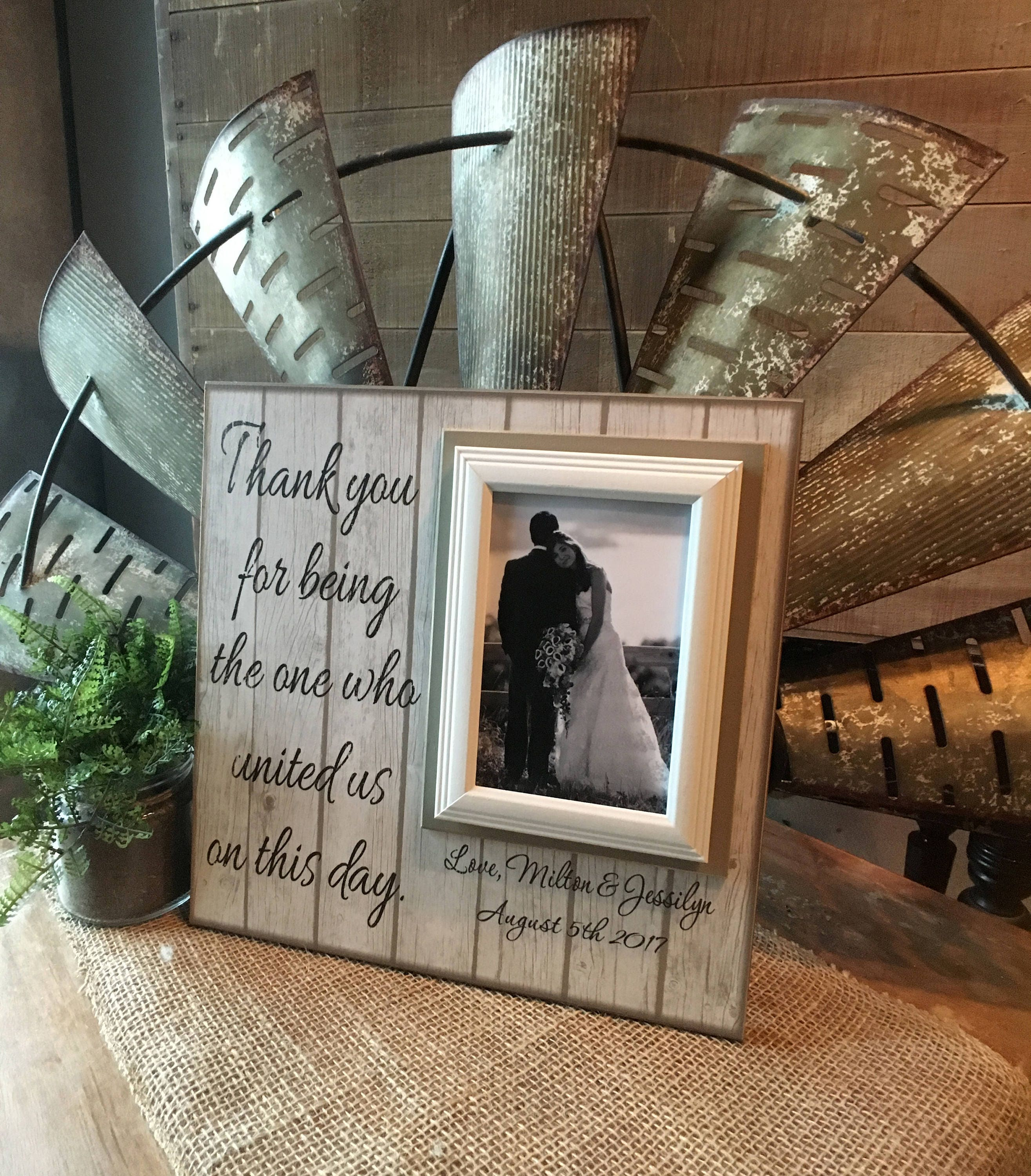 Personalized Wedding Officiant Gift