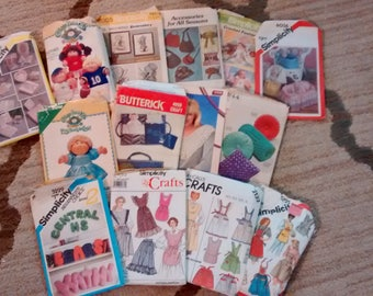 Potluck of 14 Craft Patterns