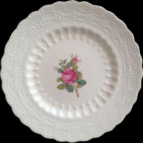 Vintage Copeland Spode Billingsley Rose Side Plate,