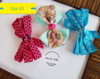 Clearance: Mix & match hair bows