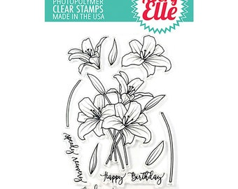 Avery Elle STamp and Die Combo Set - Spring Bouquet