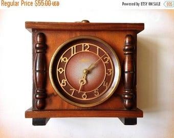 "SALE Vintage Clock ""Mayak"", Soviet clock ,Russian clock  , Mechanical clock ,Working clock"