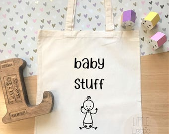 Baby stuff parent tote, great mummy to be or baby shower gift, or mother's day gift