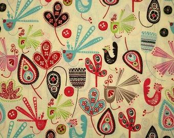 PRE-Order, Birds, Knitting Bag, Crochet, Knit, Yarn, Wool, Yarn Storage, Yarn Bag with Hole, Grommet, Handle