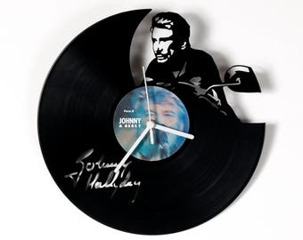 Johnny Vinyl Clock