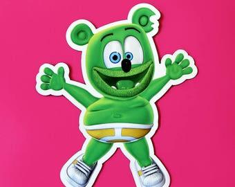 Limited Edition: Gummibär (The Gummy Bear) Magnet ~ Exclusive ~ Kawaii Character