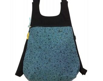 """Backpack fabric, backpack Ou """"cowgirl"""", backpack"""